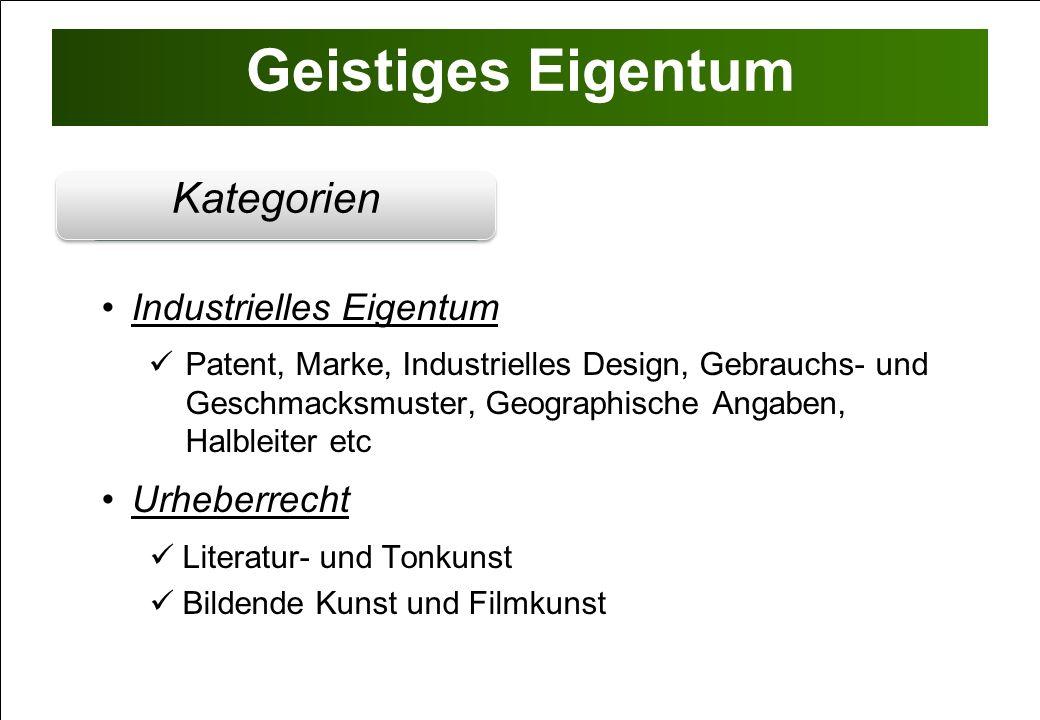 Industrielles Eigentum 1 Patent als Wirtschaftsgut & Werttreiber 1 Patent als Wirtschaftsgut & Werttreiber Wesentlicher Gesellschafts-Asset (Anlagevermögen) Grundlage für Unternehmensfinanzierungen Erweiterung der Vertriebskanäle (Lizenz / (Ver-)Kauf) Stärkung der Markt- und Verhandlungsposition