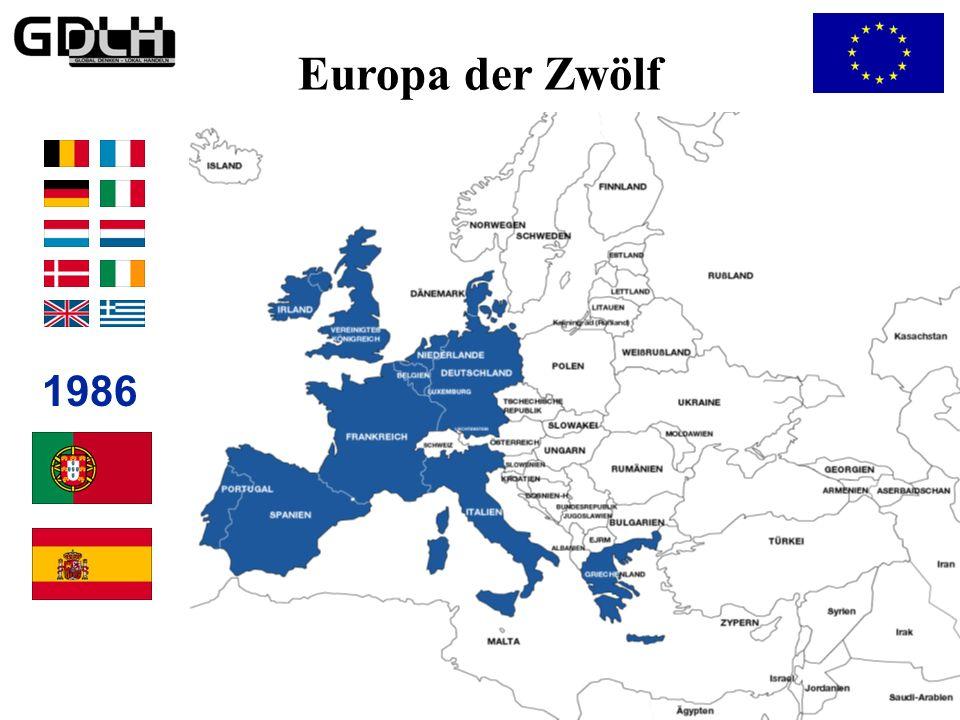 Das Europa der Zehn 1981 Europa der Zehn
