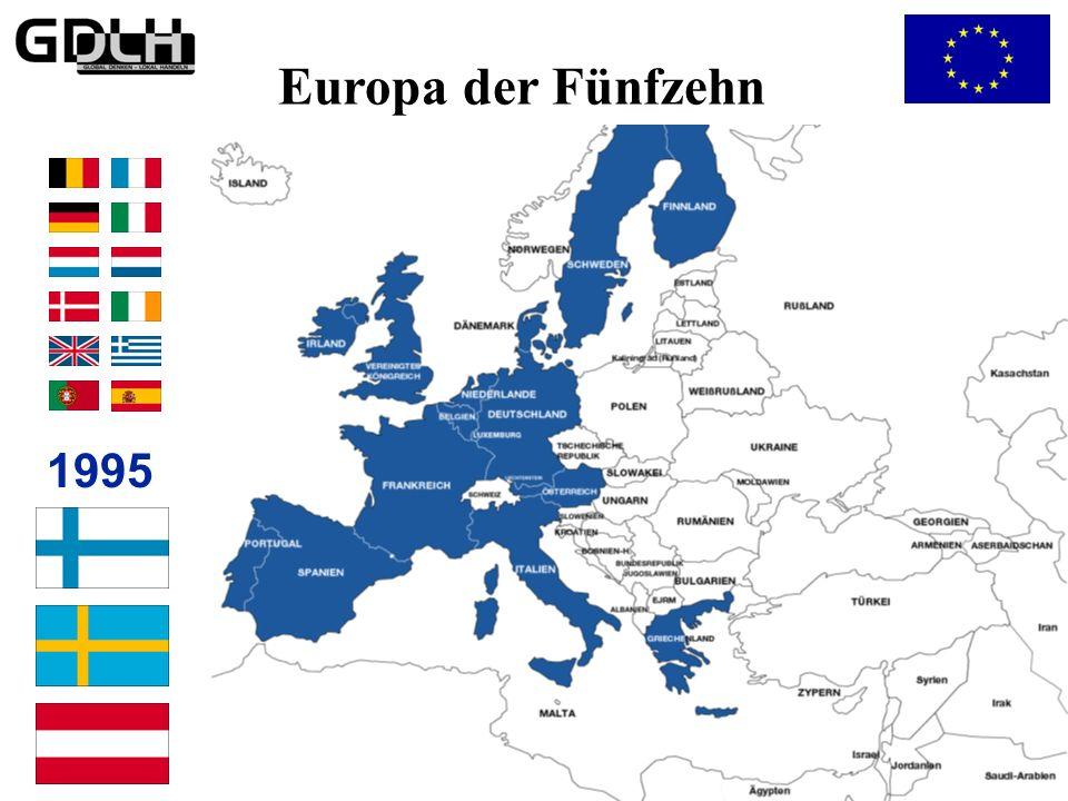 Etappen der Europäischen Einigung 1975 Lomé-Abkommen 1959 Beginn des Zollabbaus 1973 Beitritt Dänemarks, Großbritanniens und Irlands 1972 Zusammenarbe