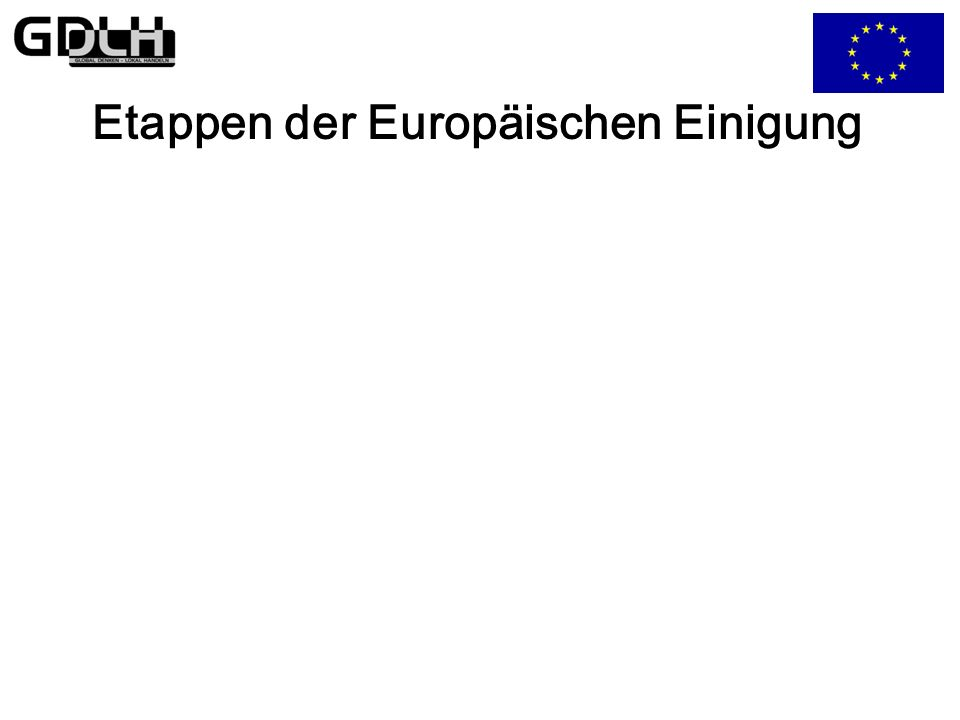 Grundlagen der EU EU Europäische Union Erste Säule: Zweite Säule: Gemeinsame Dritte Säule: Zusammenarbeit Europäische Gemeinschaft Außen- und Sicherheitspolitik Innen- und Justizpolitik - Zollunion und Binnenmarkt - Agrarpolitik - Strukturpolitik - Handelspolitik Neue oder geänderte Regelungen für: - Wirtschafts- und Währungsunion - Unionsbürgerschaft - Bildung und Kultur - Transeuropäische Netze - Verbraucherschutz - Gesundheitswesen - Forschung und Umwelt - Sozialpolitik Außenpolitik: - Kooperation, gemein- same Standpunkte und Aktionen - Friedenserhaltung - Menschenrechte - Demokratie - Hilfe für Drittstaaten Sicherheitspolitik: - Gestützt auf die WEU: die Sicherheit der Union betreffende Fragen - Abrüstung - wirtschaftliche Aspekte der Rüstung - Langfristig: Europäische Sicherheitsordnung - Asylpolitik - Außengrenzen - Einwanderungspolitik - Kampf gegen Drogenabhängigkeit - Bekämpfung des organisatorischen Verbrechens - Justitielle Zusammen- arbeit in Zivil- und Strafsachen - Polizeiliche Zusammen- arbeit Entscheidungsverfahren: Entscheidungsverfahren: Entscheidungsverfahren: EG-Vertrag Regierungszusammenarbeit Regierungszusammenarbeit