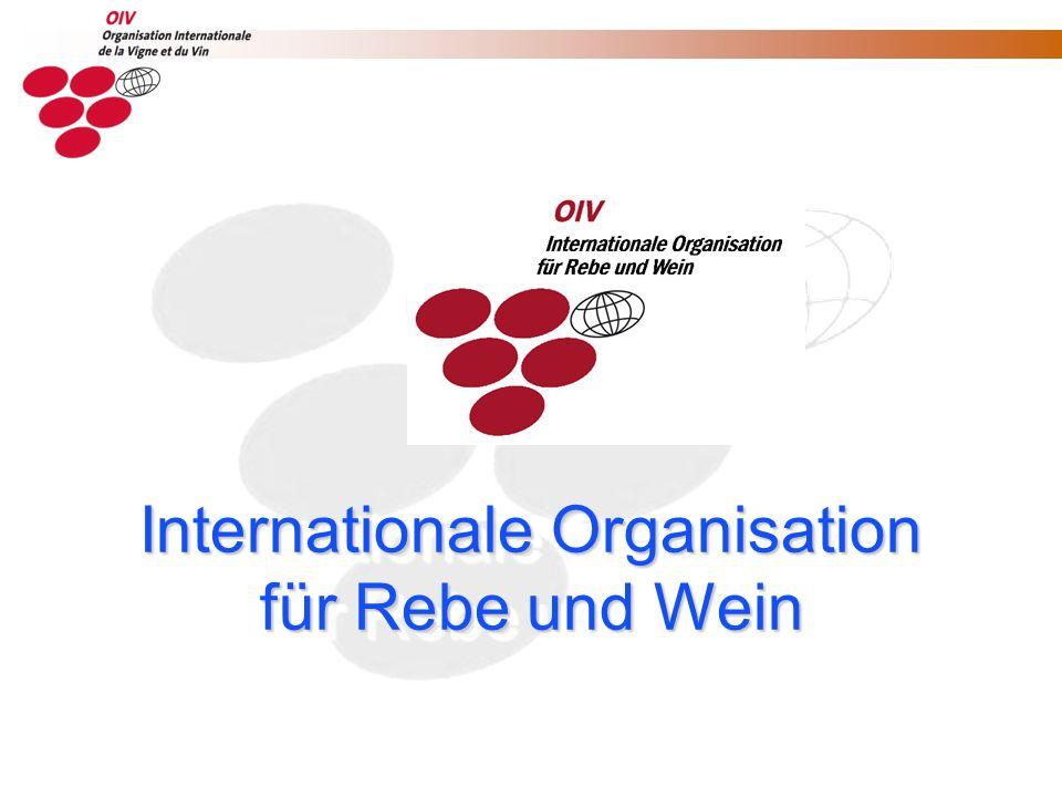 36 Mitgliedsstaaten der OIV 36 Mitgliedsstaaten der OIV Rep.