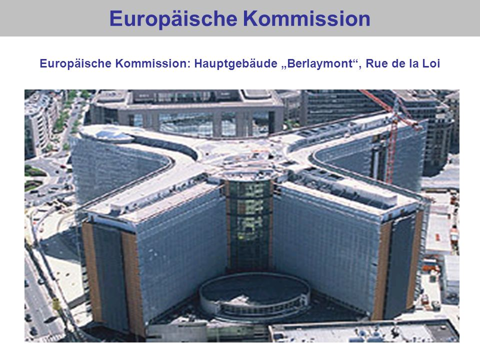 Europäische Kommission Europäische Kommission: Hauptgebäude Berlaymont, Rue de la Loi