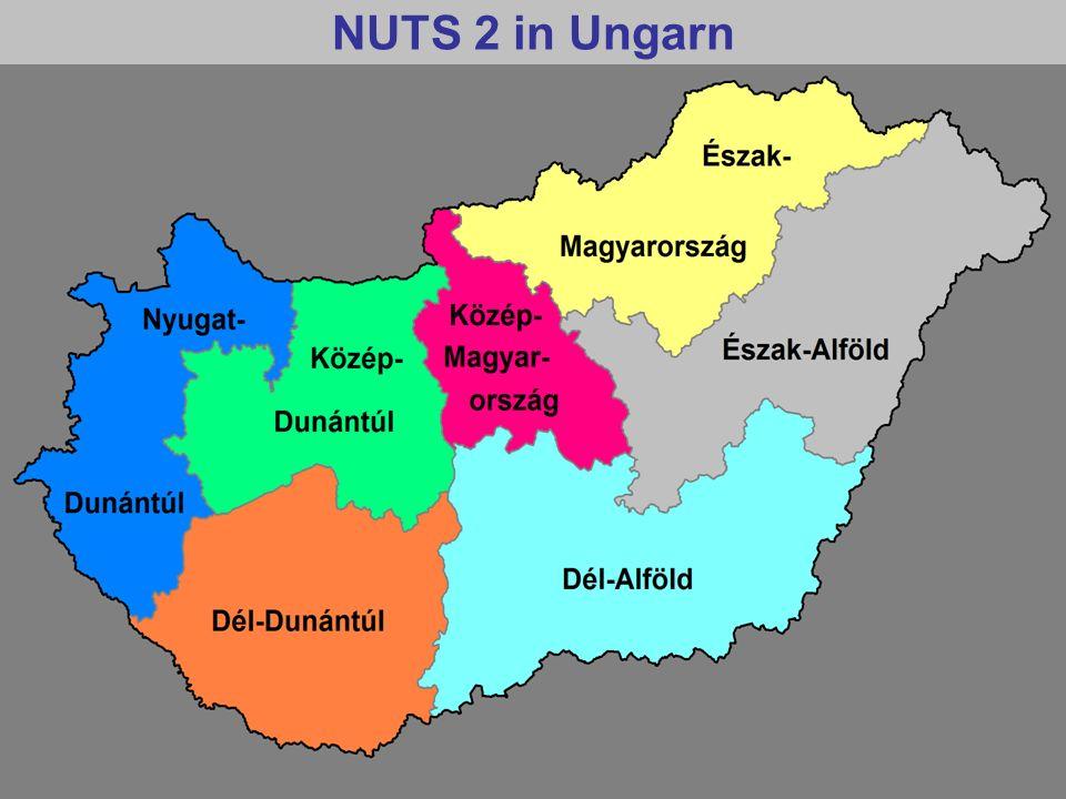NUTS 2 in Ungarn