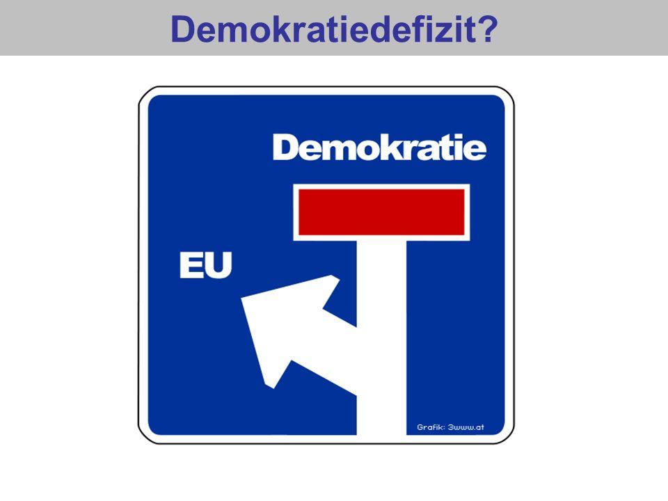 Demokratiedefizit?