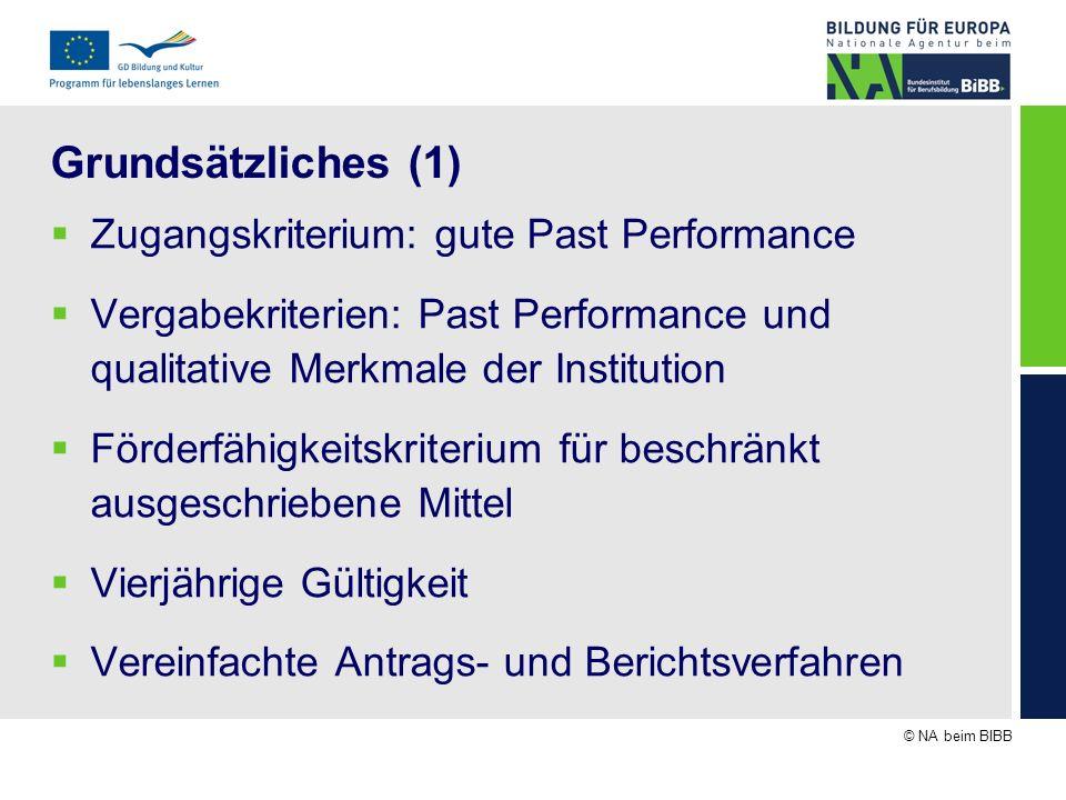 © NA beim BIBB Das Antragsformular Mobilitäts-Zertifikat 1.3 Ergebnisse, Verbreitung, Wirkung (Text) Wichtige Ergebnisse aus abgeschlossenen Projekten Wie wurden die Ergebnisse verbreitet.