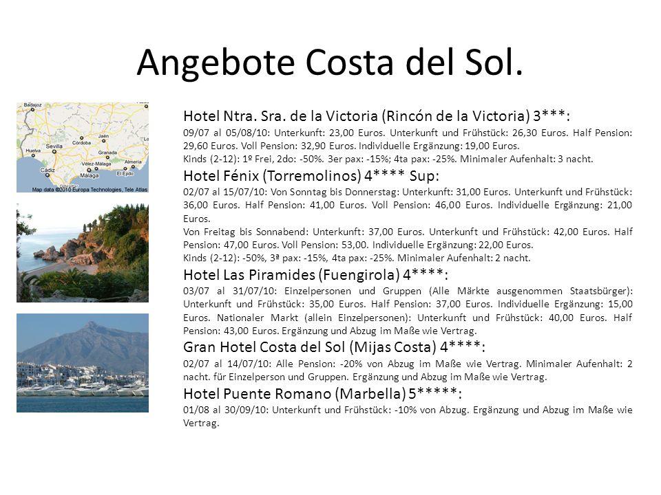Angebote Costa del Sol. Hotel Ntra. Sra.
