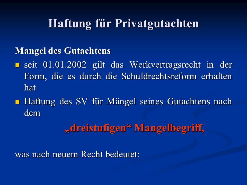Haftung gegenüber Dritten XI BGH vom 27.10.1998 (X ZR 92/96): Bank Betreiberin Berggasthof Gutachter Kontokorrent 2,4 Mio.