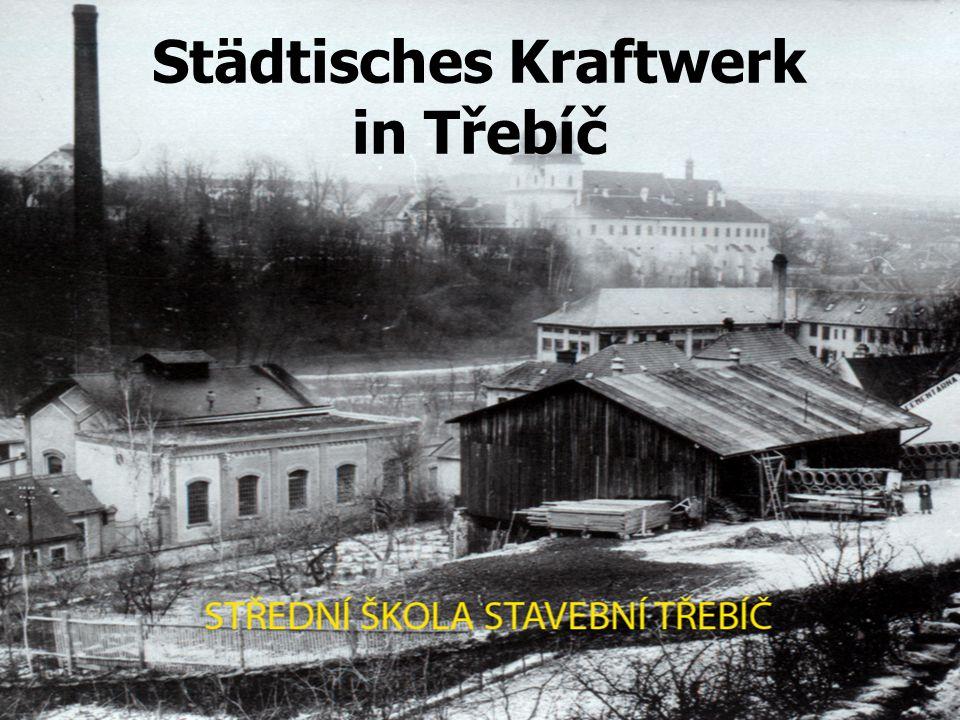 Städtisches Kraftwerk in Třebíč