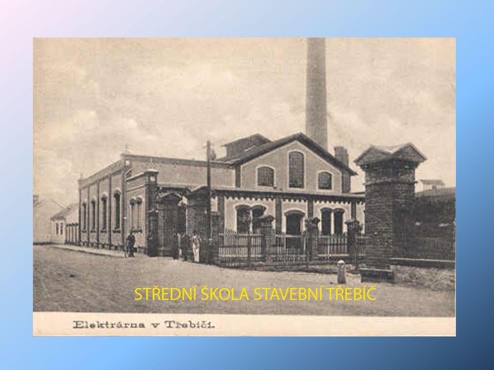 Lage des Kraftwerkes in Třebíč- Polanka