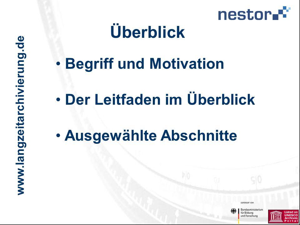 www.langzeitarchivierung.de IWI Was ist Ingest.