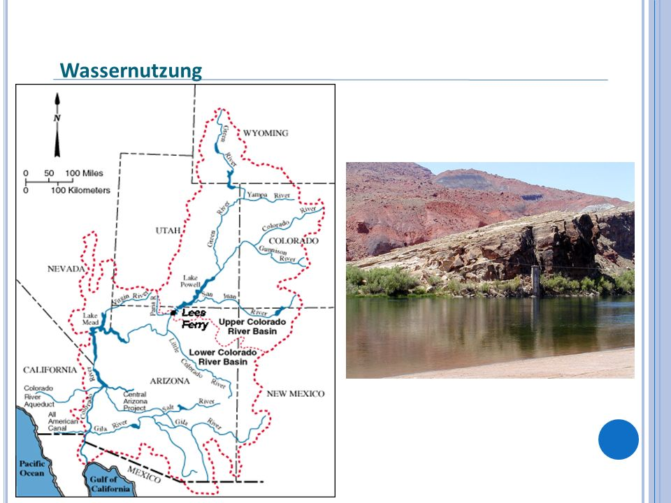 Quellen Colorado River Commission of Nevada; October 2006; LAWS OF THE RIVERS, The legal regimes of the major interstate river systems of the unitedstates Sonoran Institute, Steve Cornelius; August 2003; Recent Dvelopments on the Colorado River: Implications for Delta Conservation Pacific Institute, November 2005; Understanding flows through the remnant Colorado River Delta The Library of Congress, Stephen Vina; March 2005; The United States – Mexico Dispute over the Waters of the Lower Rio Grande River Christensen et.
