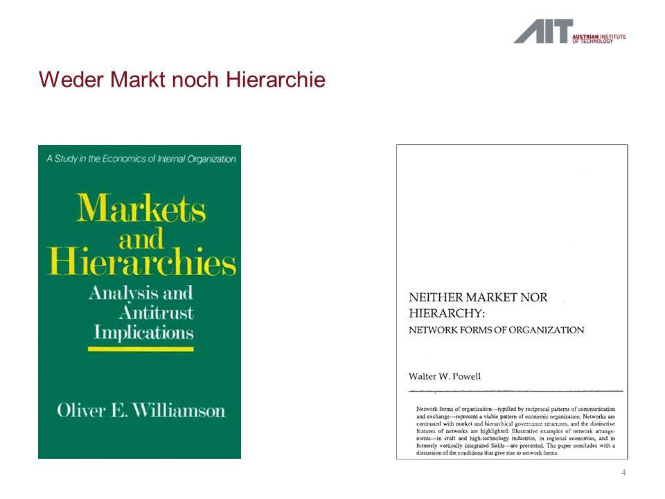 4 Weder Markt noch Hierarchie