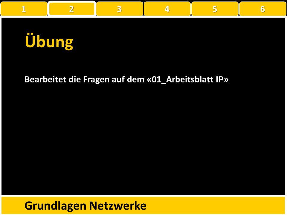Wie sprechen PCs miteinander? Grundlagen Netzwerke C:\Users\testuser>ping 192.168.1.38 Ping wird ausgeführt für 192.168.1.38 mit 32 Bytes Daten: Antwo