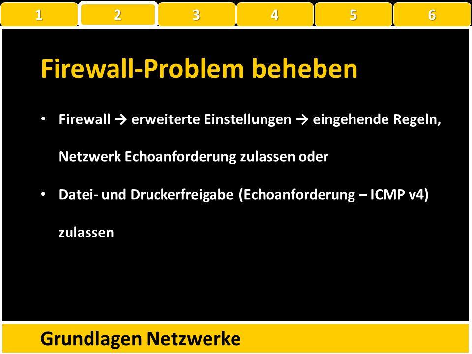 Übung Bearbeitet die Fragen auf dem «01_Arbeitsblatt IP» Grundlagen Netzwerke 1 22223456