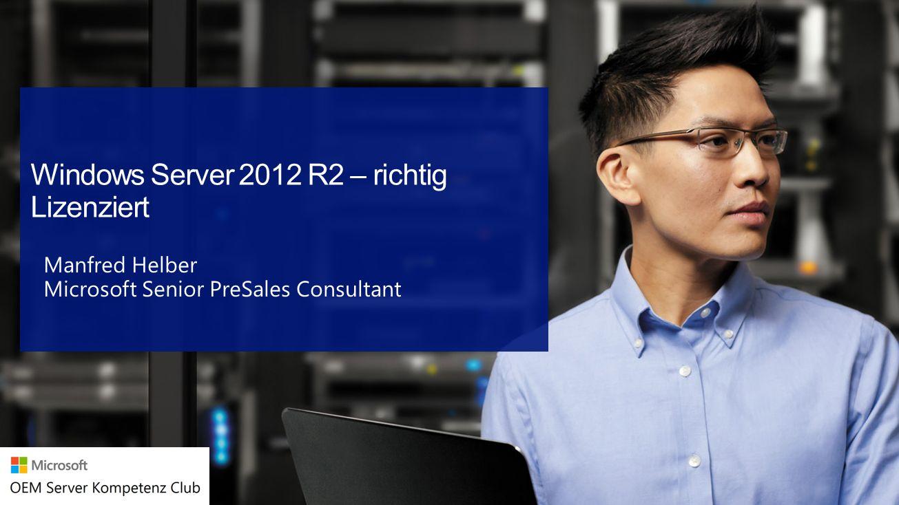 Manfred Helber Microsoft Senior PreSales Consultant