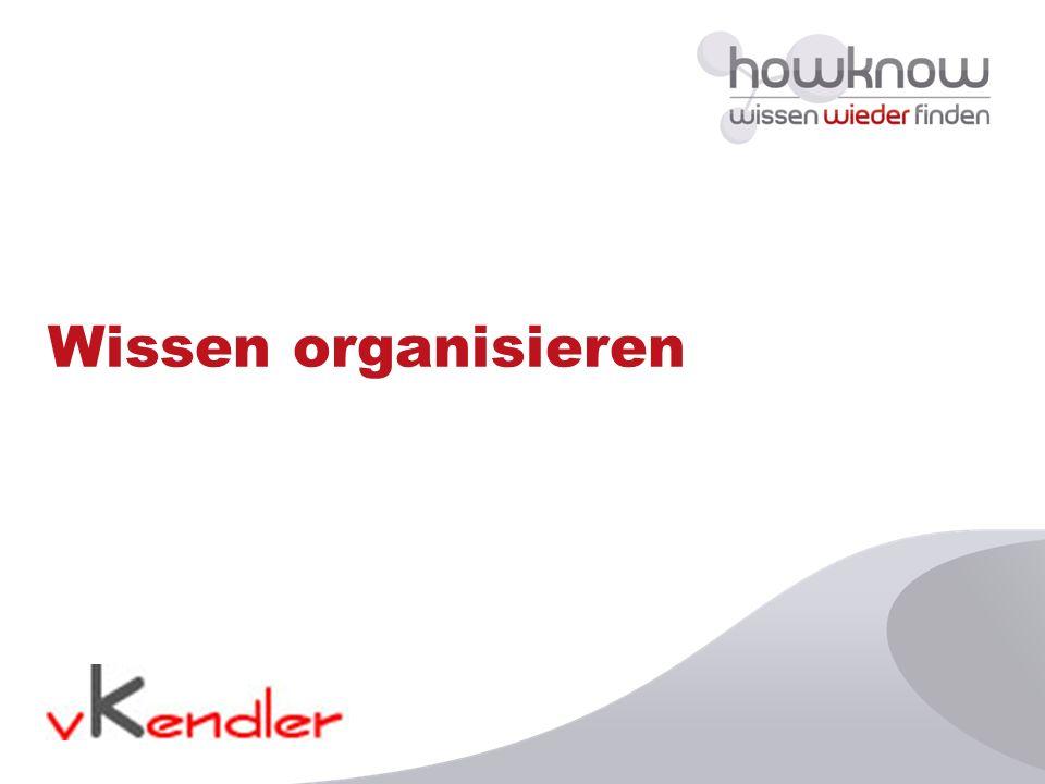 Wissen organisieren