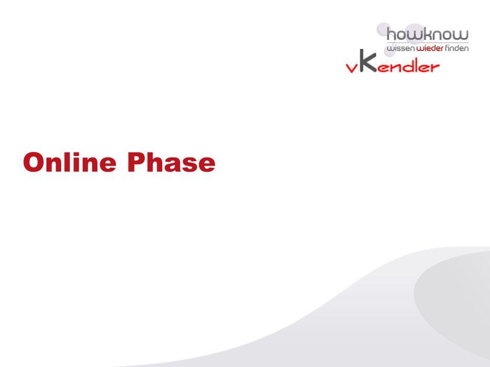 Online Phase