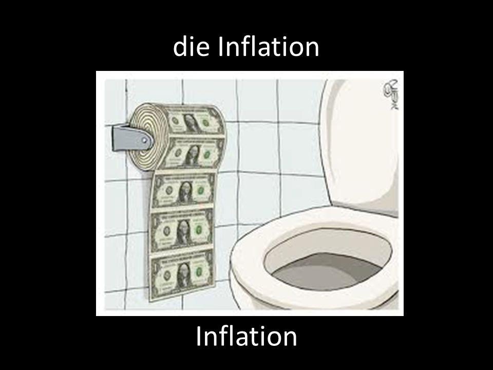 die Inflation Inflation