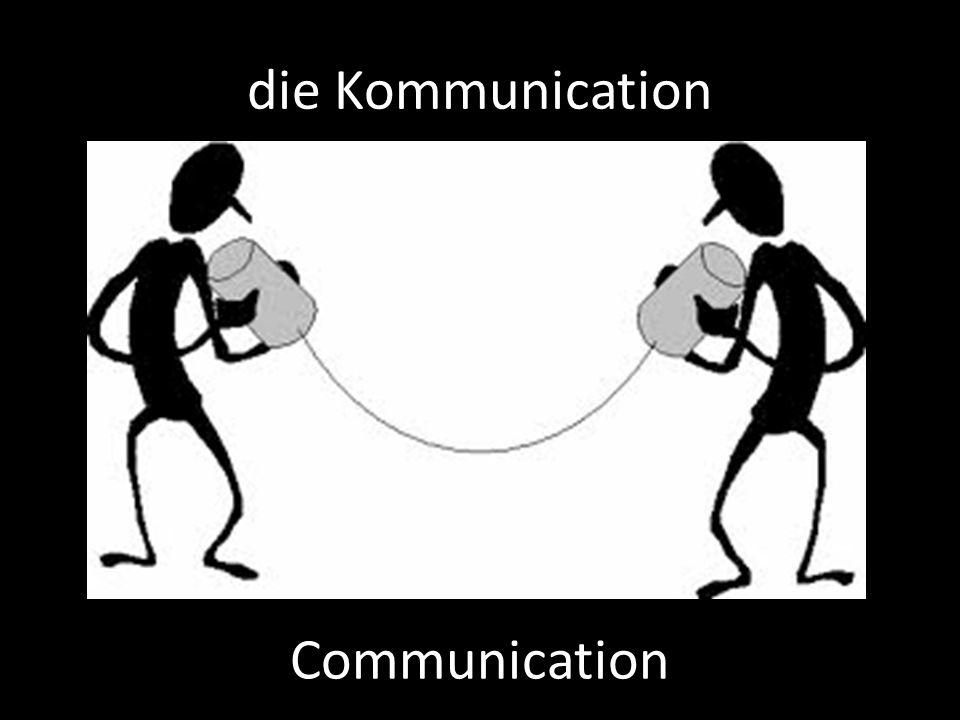 die Kommunication Communication