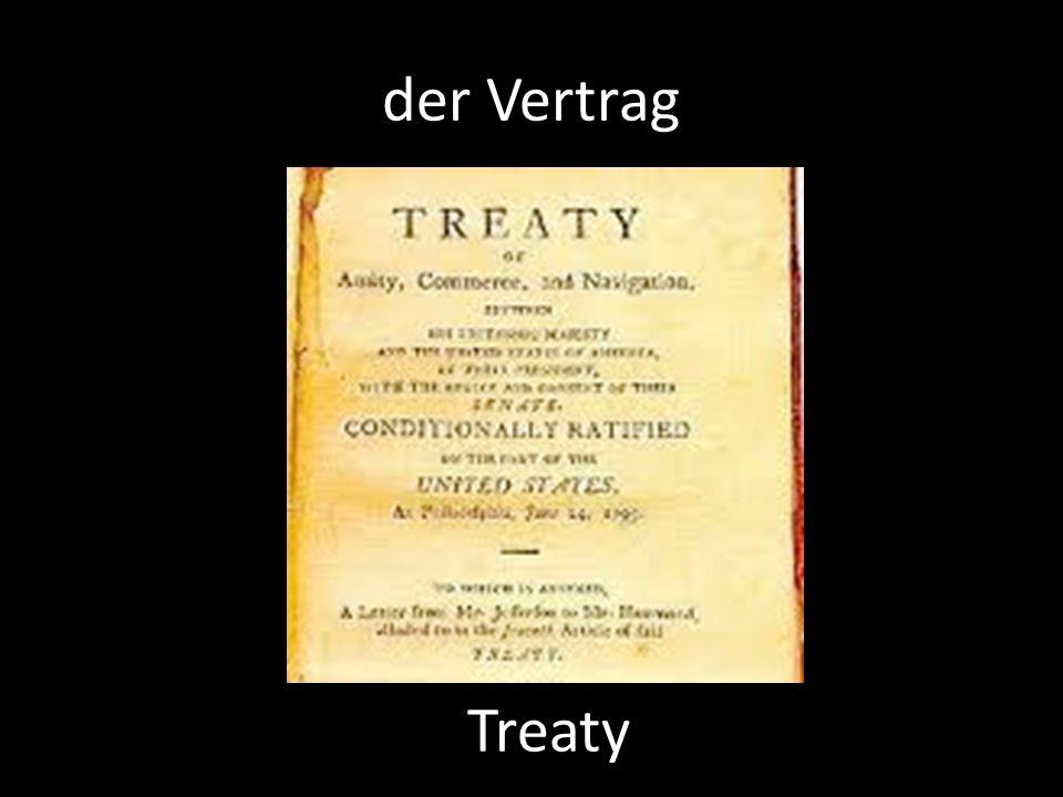 der Vertrag Treaty