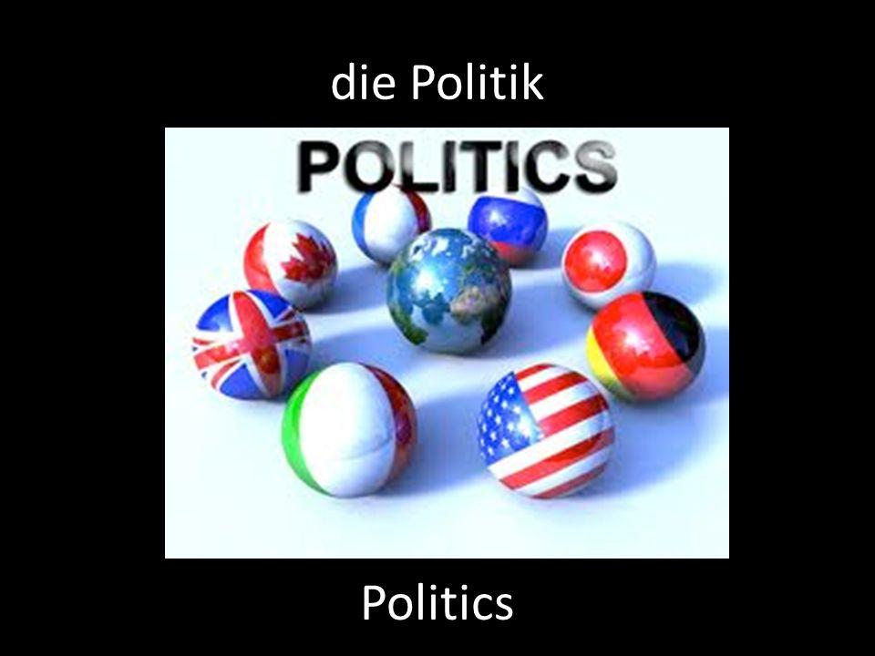 die Politik Politics