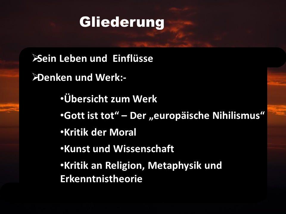 Das Gedicht Vereinsamt Von Nietzsche