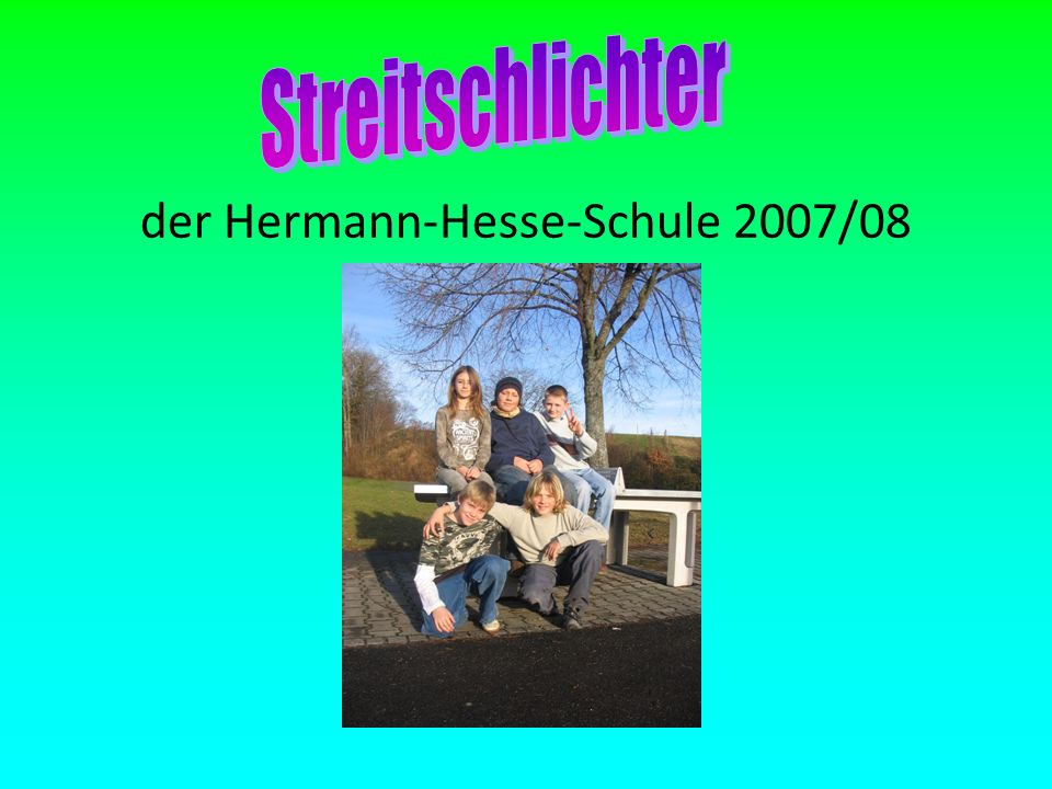 der Hermann-Hesse-Schule 2007/08