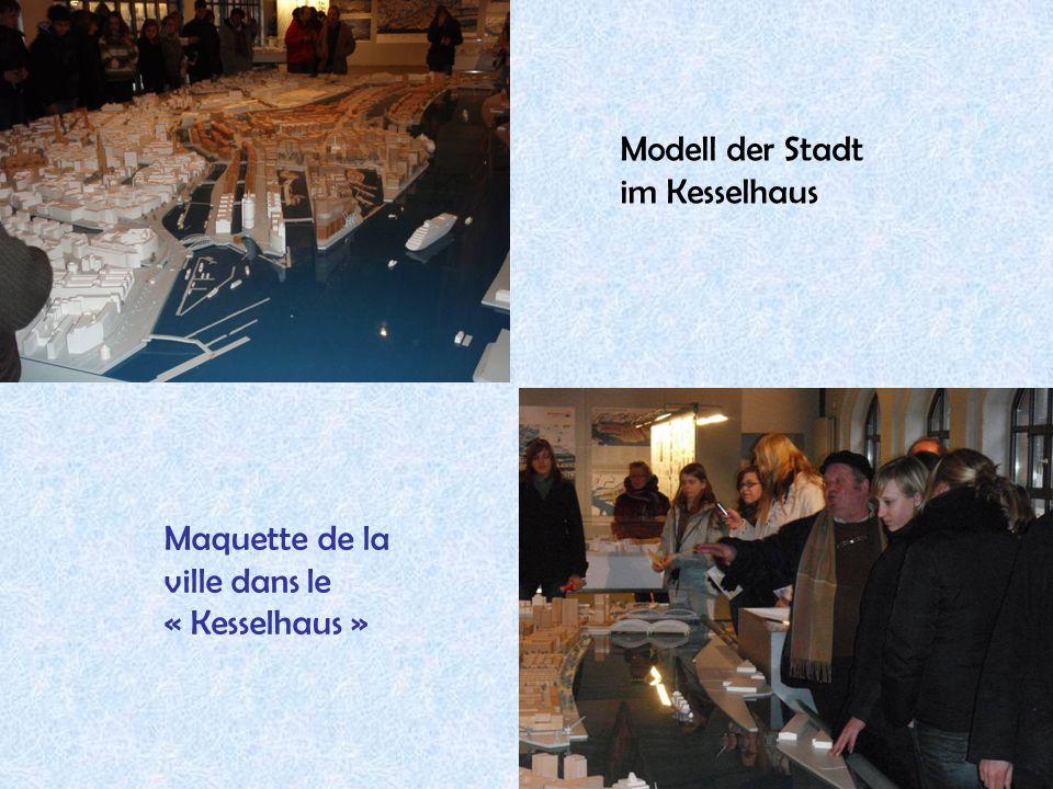 20 Modell der Stadt im Kesselhaus Maquette de la ville dans le « Kesselhaus »