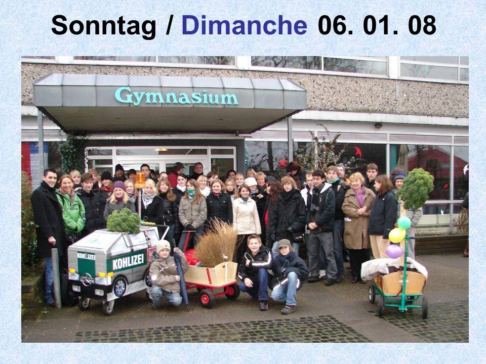 24 Sonntag / Dimanche 06. 01. 08
