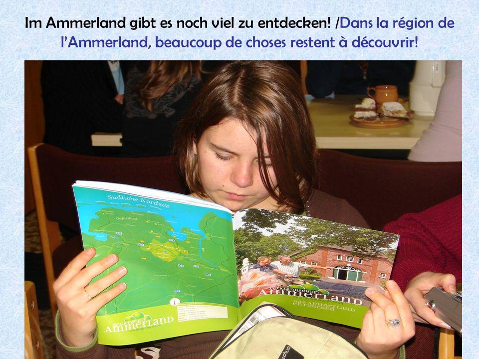 36 Im Ammerland gibt es noch viel zu entdecken! /Dans la région de lAmmerland, beaucoup de choses restent à découvrir!