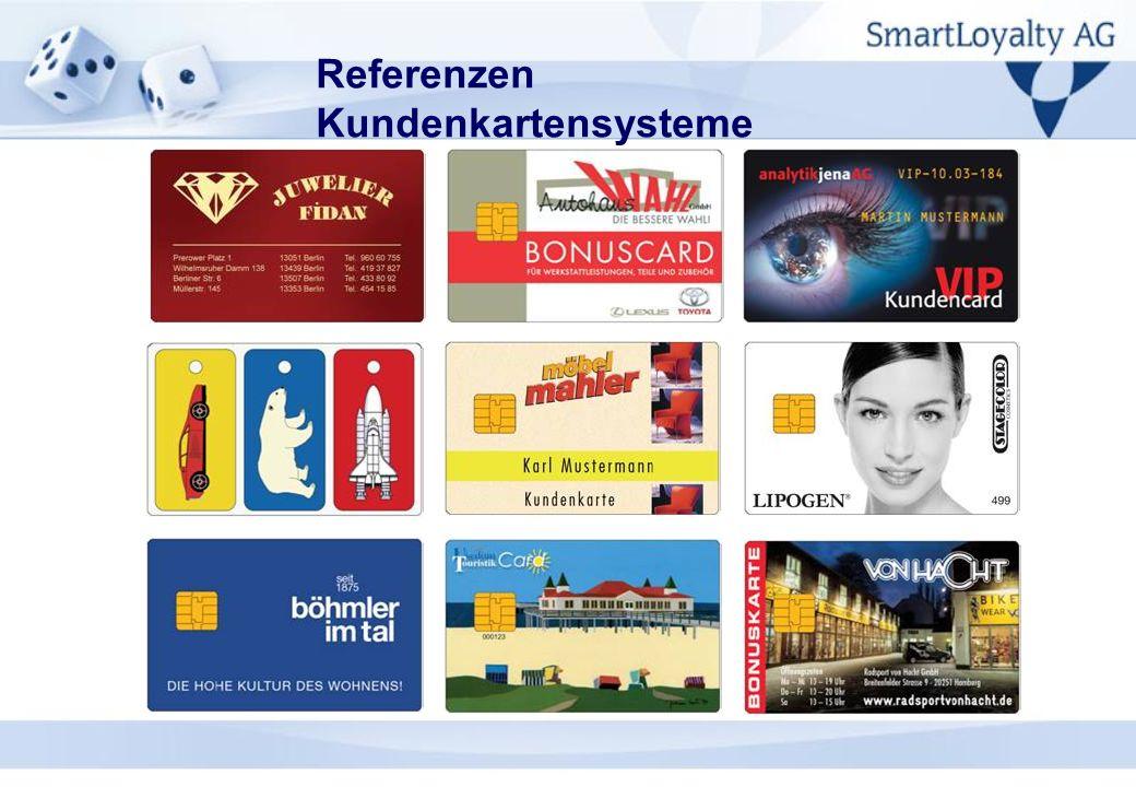 Referenzen Kundenkartensysteme
