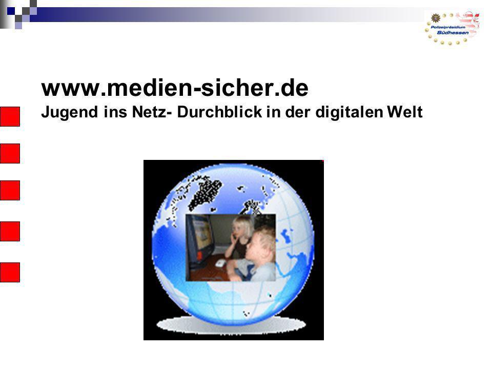 www.medien-sicher.de Jugend ins Netz- Durchblick in der digitalen Welt