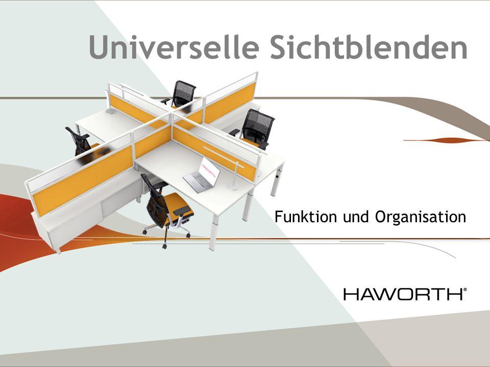 Universelle Sichtblenden Funktion und Organisation