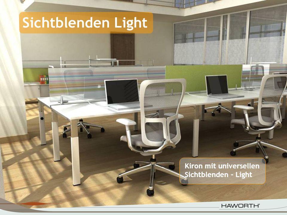 Kiron mit universellen Sichtblenden - Light