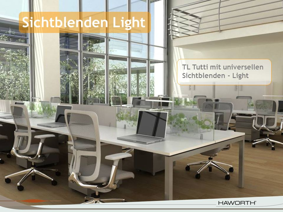 TL Tutti mit universellen Sichtblenden - Light Sichtblenden Light
