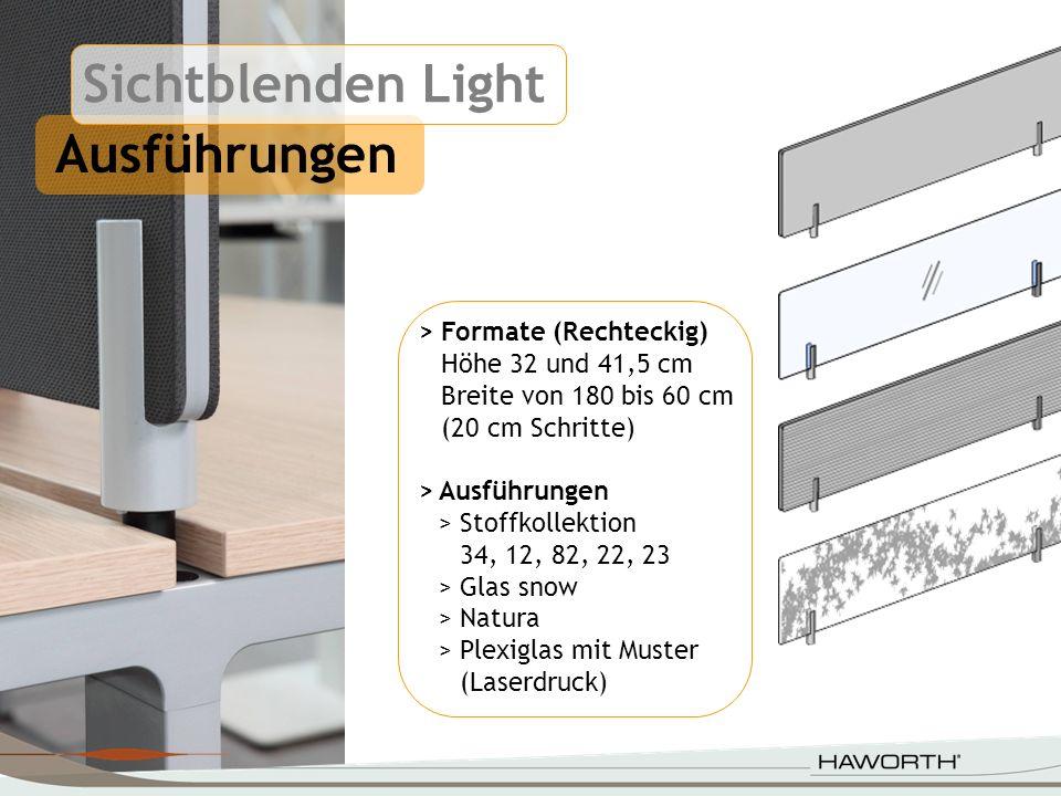 Sichtblenden mit Rahmen Anbindungsmöglichkeiten >Hexagon An der Tischstruktur > Kiron An der Brücke, auf der Platte, Benchlösungen >TL Tutti An der Tischstruktur, Benchlösungen