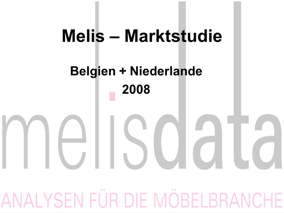 Melis – Marktstudie Belgien + Niederlande 2008