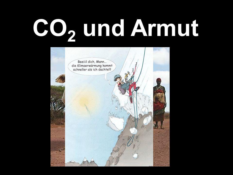 CO 2 und Armut