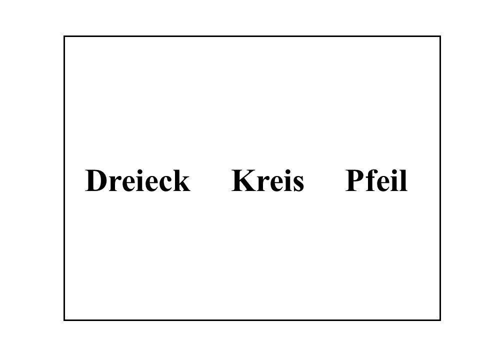 Dreieck Kreis Pfeil