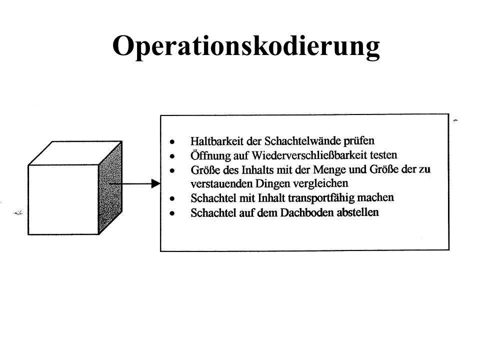 Operationskodierung