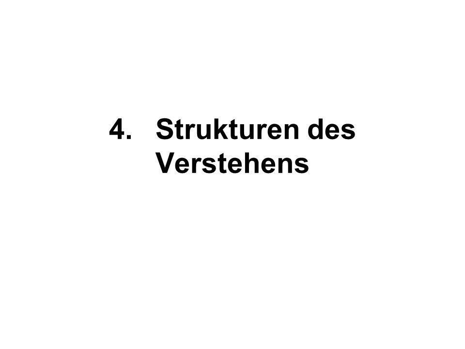 4.Strukturen des Verstehens
