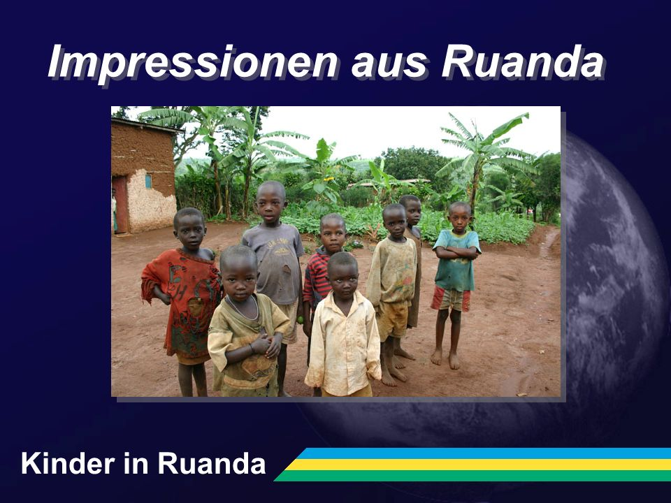 Impressionen aus Ruanda Kinder in Ruanda