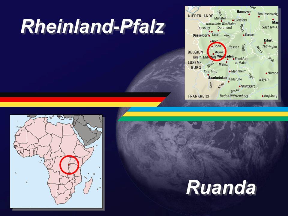 Rheinland-Pfalz Ruanda Größe: 19.846 km 2 Größe: 26.338 km 2
