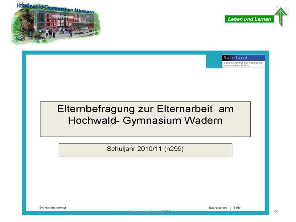 Leben und Lernen 59InfoVeranstaltung 2012