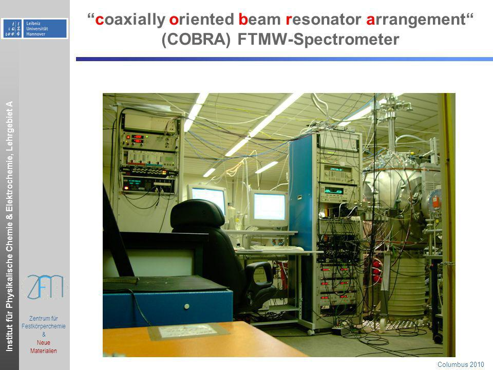 Institut für Physikalische Chemie & Elektrochemie, Lehrgebiet A.ppt Zentrum für Festkörperchemie & Neue Materialien Columbus 2010 para-tolualdehyde: reduced energy level diagram for m = +/- 3 E – (1/2)(B+C)J(J+1)