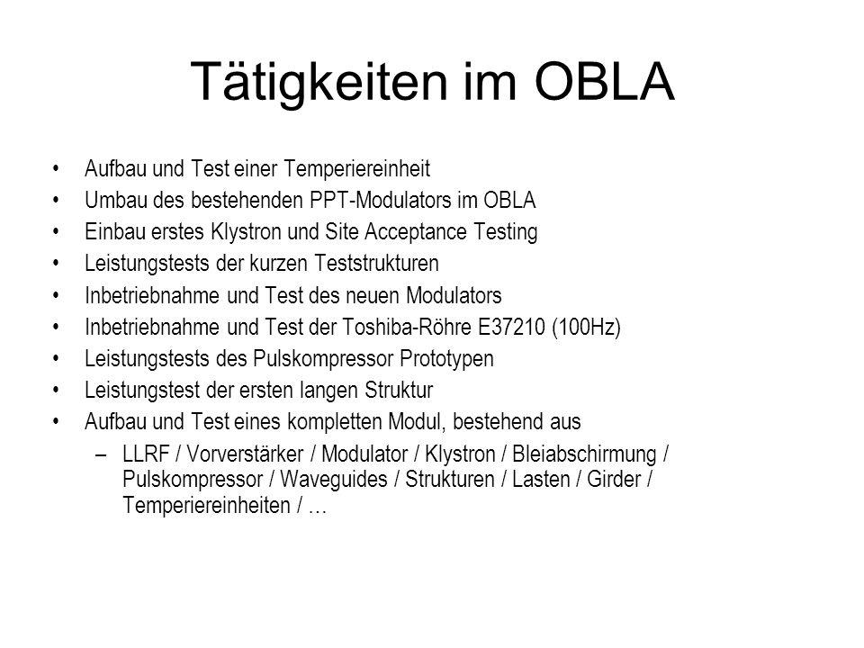 Terminplan OBLA