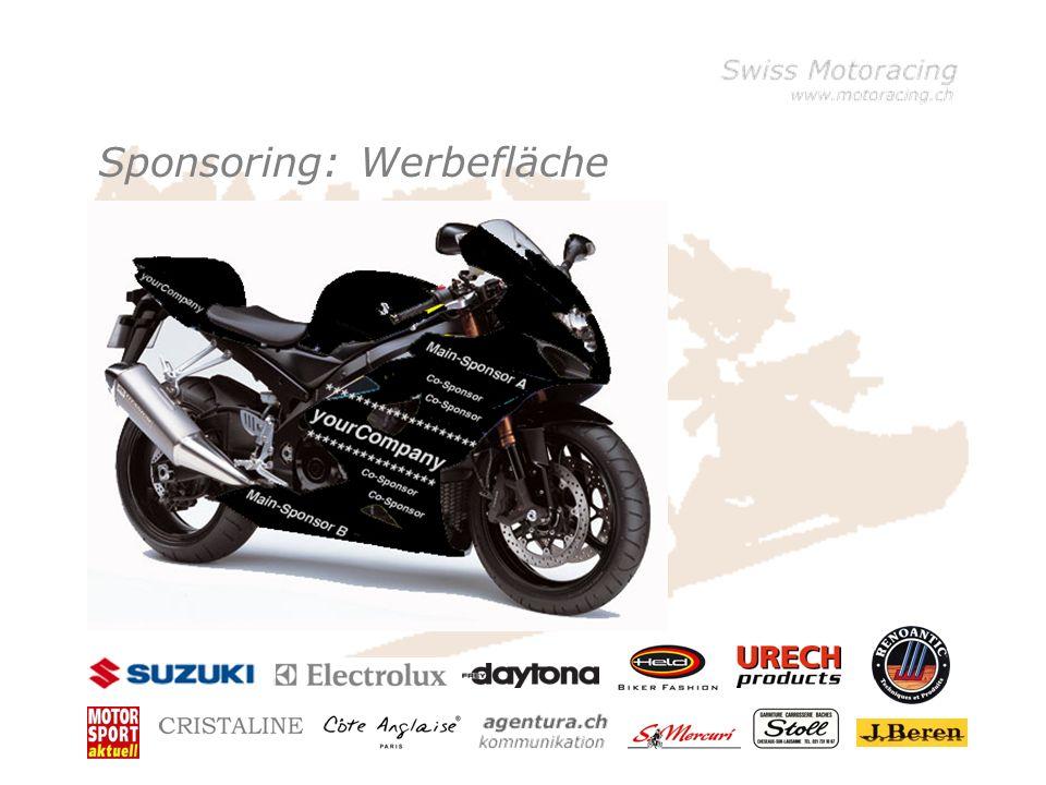 Sponsoring: Werbefläche