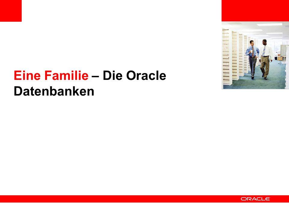 Eine Familie – Die Oracle Datenbanken