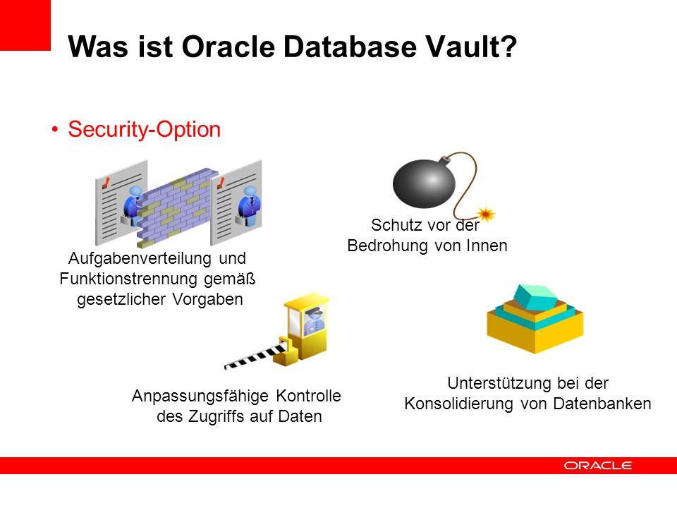 Was ist Oracle Database Vault.