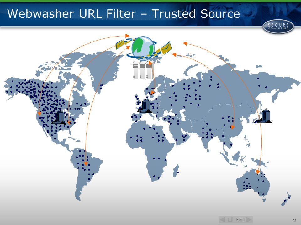 Home 25 Webwasher URL Filter – Trusted Source